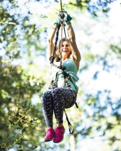 Want to branch out and try something new this weekend? Tree to Tree Adventures is an aerial obstacle course and ziplining experience that will push you out of your comfort zone and get your adrenaline pumping.#TallahasseeMuseum #TallahasseeFl #iHeartTally #ExploreFL #LoveFL #Museum #LiveMuseum #FamilyVacation #Zipline #FamilyFun #Ziplining #TreeToTreeAdventures