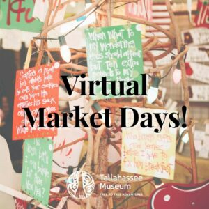 Market Days offers a beautiful array of works in various price ranges, from breathtaking fine art to charming stocking stuffers. This year, we're celebrating Market Days virtually! Support vendors and wrap up your holiday shopping.  Shop here: https://tallahasseemuseum.org/market-days/ or tap the link in our bio!  #TallahasseeMuseum #MarketDays #TallahasseeMarketDays #TallahasseeFl #iHeartTally #ExploreFL #LoveFL #Museum #LiveMuseum #FamilyVacation