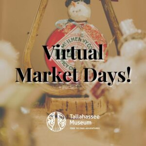 Still need to finish up your holiday shopping? Our virtual Market Days has tons of amazing vendors that will take the holiday stress away!  Shop here: https://tallahasseemuseum.org/market-days/ or tap the link in our bio!  #TallahasseeMuseum #MarketDays #TallahasseeMarketDays #TallahasseeFl #iHeartTally #ExploreFL #LoveFL #Museum #LiveMuseum #FamilyVacation