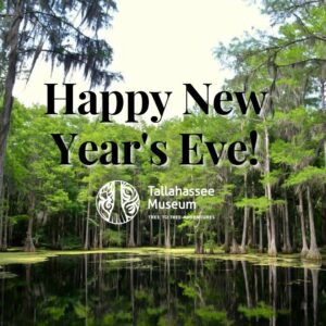 Happy New Year's Eve from the Tallahassee Museum! We can't wait to see what 2021 brings!  #TallahasseeMuseum #TallahasseeFl #iHeartTally #ExploreFL #LoveFL #Museum #LiveMuseum #FamilyVacation