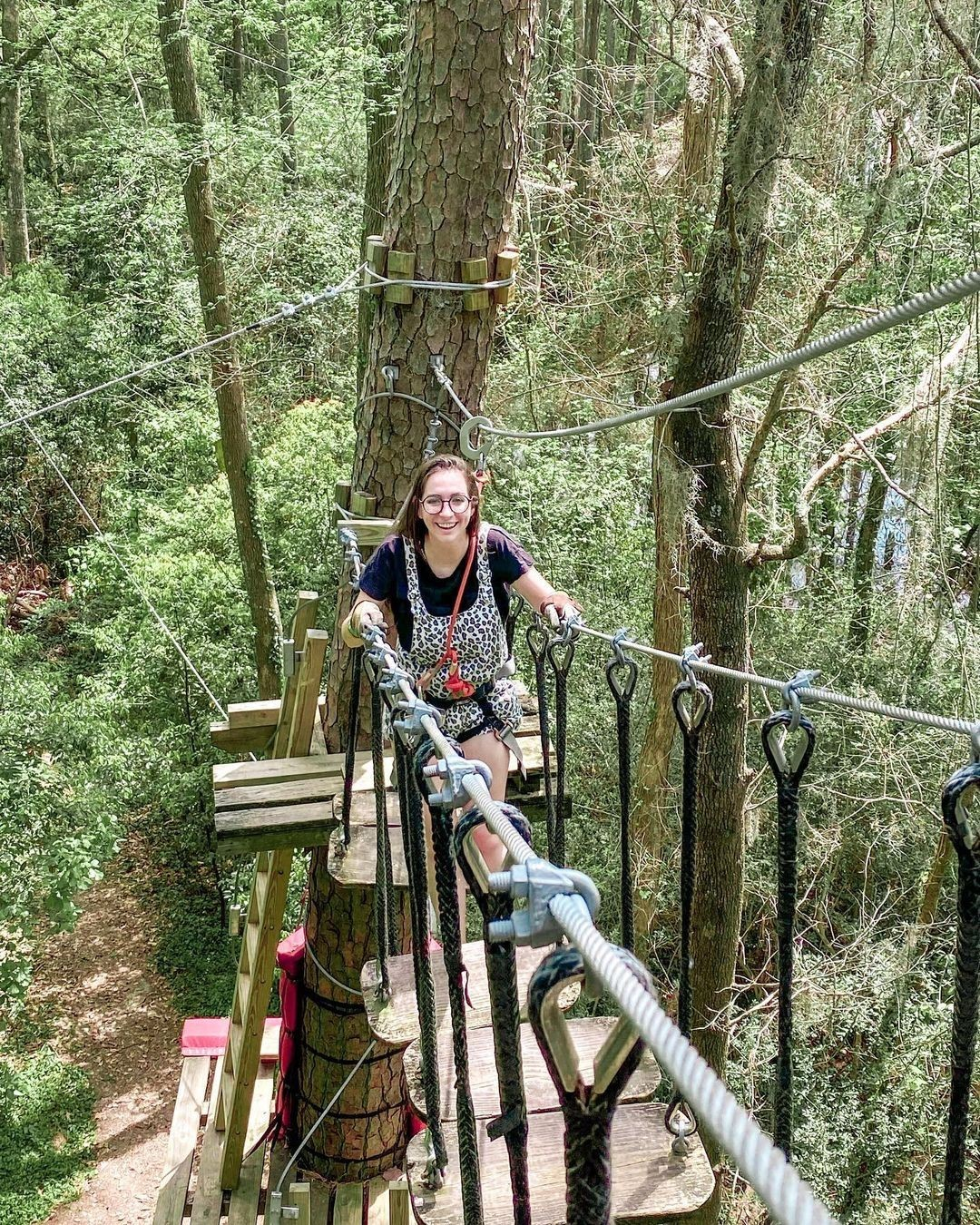 Step-by-step, you'll make it through each obstacle of our Tree to Tree Aerial Adventure Course! Are you ready to conquer…