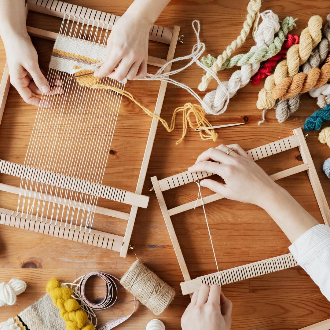 Want to learn a new skill? Weaving is easy to learn and fun for all ages! Join us at the…